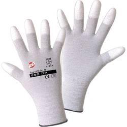 Fine štrikane rukavice Worky 1170 ESD, poliamid/karbonska vlakna s PU-prevlakom, vel. 7