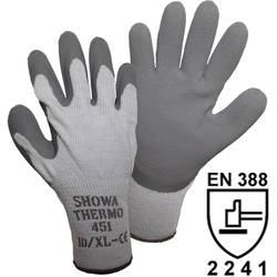 Ĺ trikane termo rukavice Showa451, akril, pamuk, poliester s prevlakom od lateksa, vel. 10 14904
