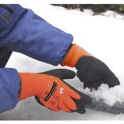 Zimske štrikane rukavice protuklizne Worky 14931, neon narančasta, 100 % akril Griffy