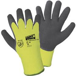 Zimske štrikane rukavice protuklizne Worky 14932, neon žuta, 100 % akril Griffy