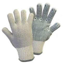 Grubo štrikane rukavice Griffy 1133SB, 65% pamuk, 35% poliester s PVC prevlakom, vel. 10