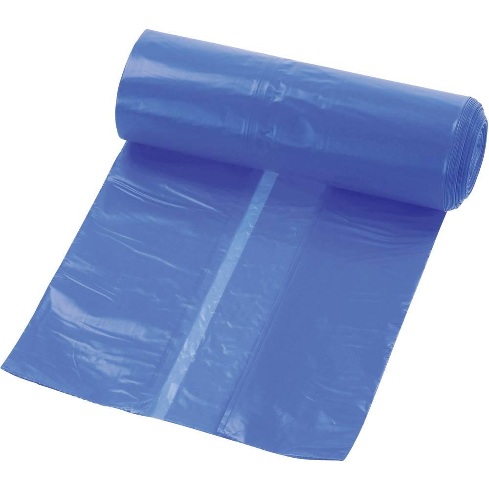 Vreča za odpadke, 120 l, (D xŠ ) 1.100 mm x 700 mm, modre barve, HDPE-folija 9899-22