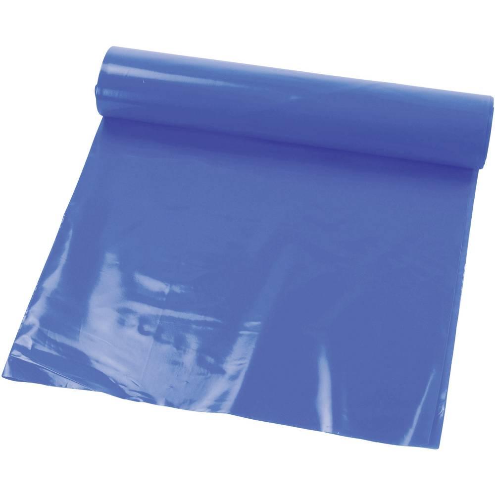 Vreča za odpadke, 120 l, izjemno močna, modre barve, HDPE-folija 9899-80