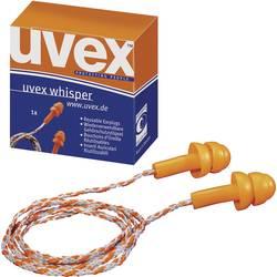 Ušni čepići za zaštitu sluha Uvex Whisper, 2111201, 23 dB, 50 parova