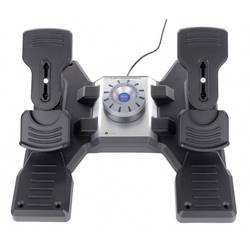 Flygsimulator-pedal Saitek Pro Flight Rudder Pedals PZ35 USB PC Svart