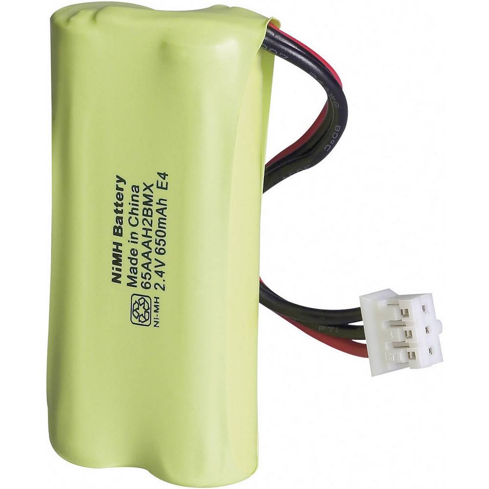 Akumulator za bežični telefon za: Philips NiMH 2.4 V 650 mAh