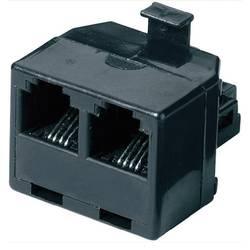 Western Y-adapter 0 m Svart Basetech