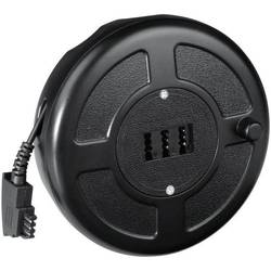 Telefonski (analogni) kolut s kablom 13661 Hama [1x TAE-F utikač - 1x TAE-NFN utikač] 15 m crni