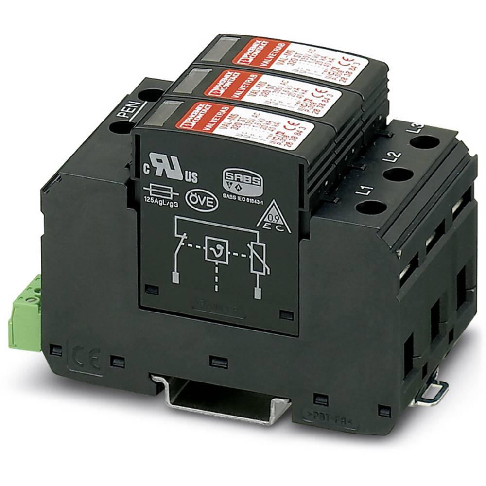 Phoenix Contact 2920243 Type 2 surge protection device VAL-MS 320/3+0-FM