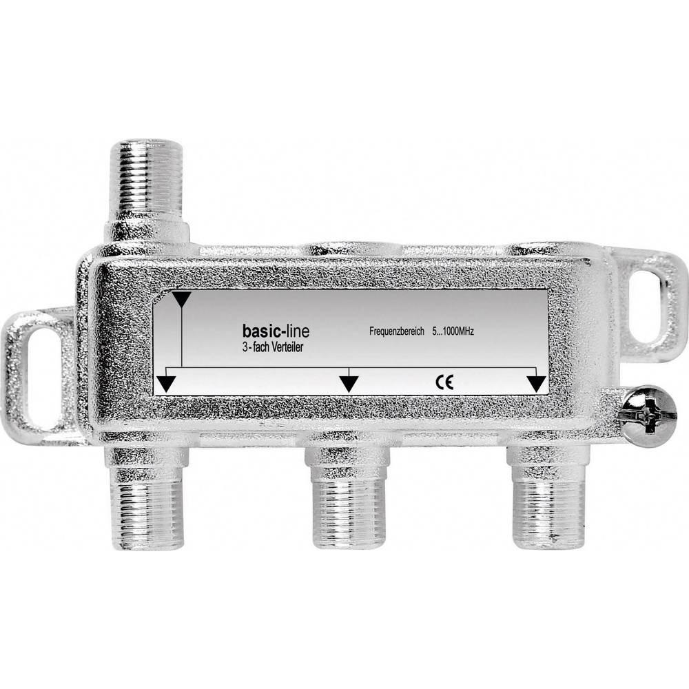 Kabelski TV razdjelnik Renkforce 3-dijelni 5 - 1006 MHz