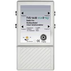 Razdelilni ojačevalnik Axing TVS 14, 4 priključki, frekvenčni razpon: 47-862 MHz,