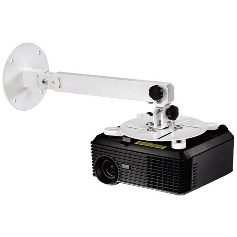 Držalo za projektor, stensko/stropno, vrtljivo, oddaljenost od stropa (maks): 63.5 cm, oddaljenost od stene (maks.): 63.5 cm Ham