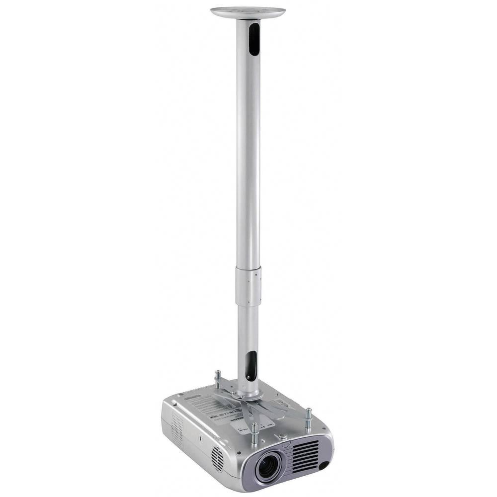 Stropni nosilec za projektor, nagiben, vrtljiv, razdalja od tal/stropa (maks.): 12 cm Kindermann Beamer Quadro stropni nosilec