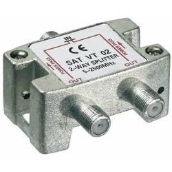 SAT-fördelare Goobay SAT VT 02 2-polig 5 - 2450 MHz