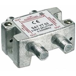 SAT-fördelare Goobay SAT VT 03 3-polig 5 - 2450 MHz