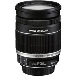 Standard-objektiv Canon EF-S f/3.5 - 5.6 18 - 200 mm