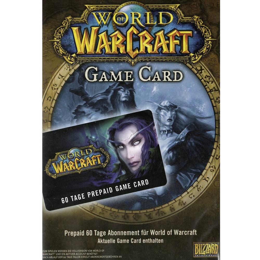 World of Warcraft 60 dana Blizzard Gametime Card USK 0 igra za PC