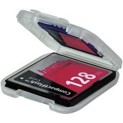 Etui za memorijsku karticu 00049921 Hama CFast kartica, CF kartica, MMC Mobile kartica, SD kartica prozirna