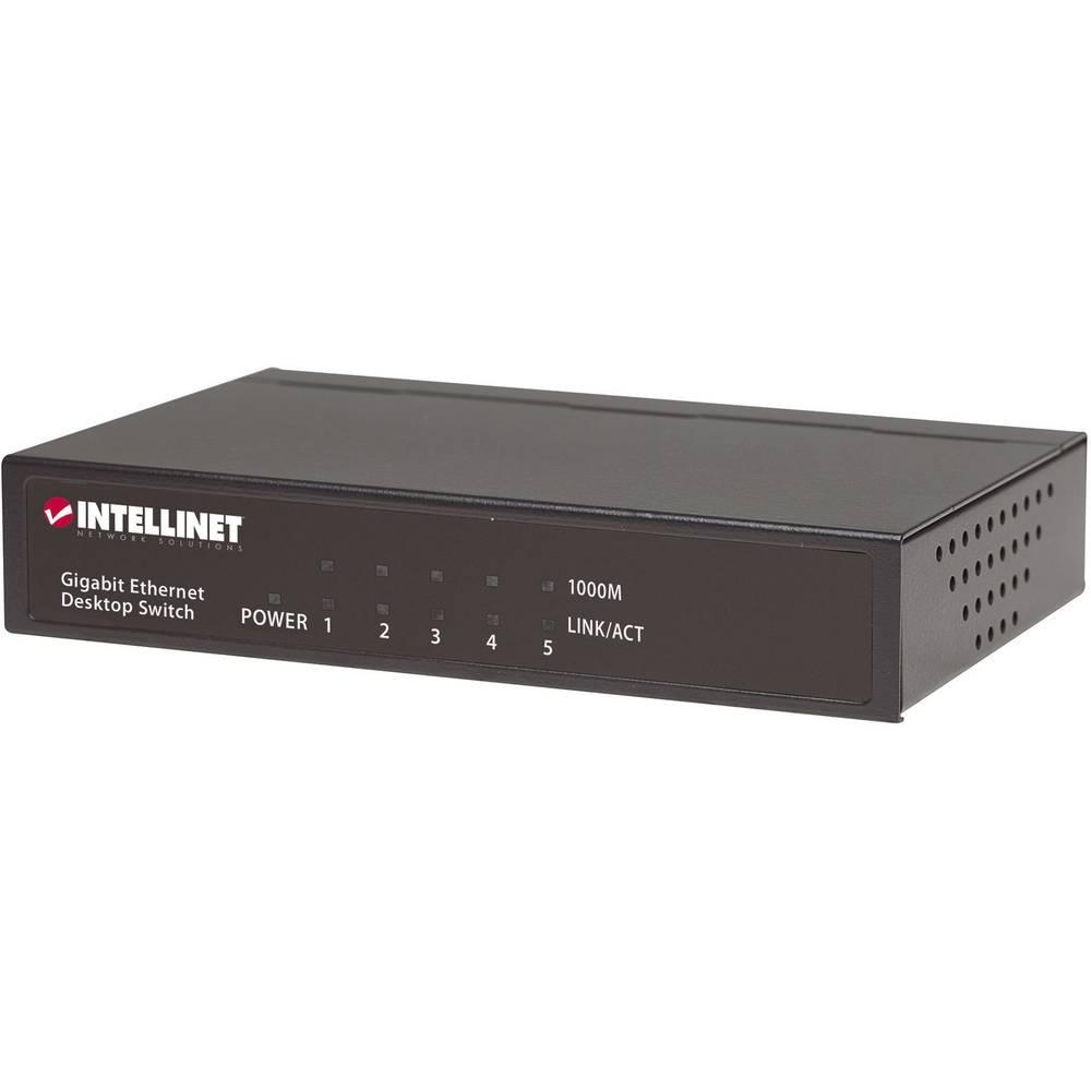 Mrežni Switch uređaj RJ45 530378 Intellinet 5-portni 1000 MBit/s