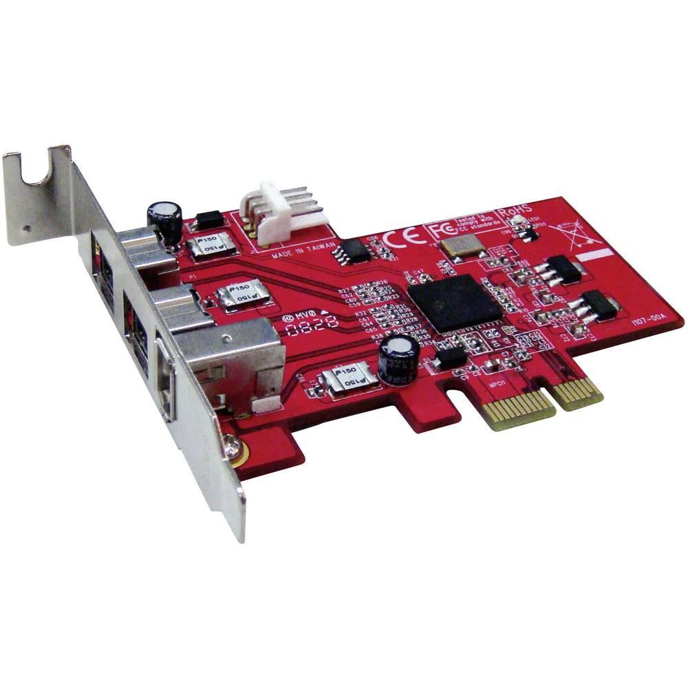 3 PORT FIREWIRE 400/800 PCI-EXPRESS kartica