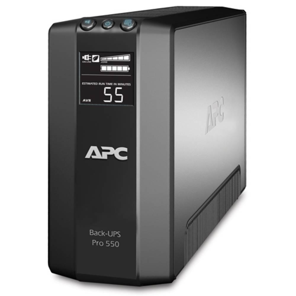 UPS enota za brezprekinitveno napajanje 550 VA APC by Schneider Electric Back UPS BR550GI