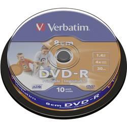 Verbatim VERBATIM DVD-R8CM 1,4GB, 4 x 10 komada. SP PRINT 43573