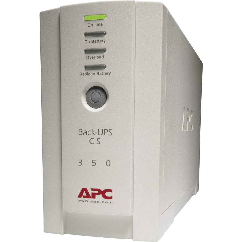 UPS enota za brezprekinitveno napajanje 350 VA APC by Schneider Electric Back UPS BK350-EI