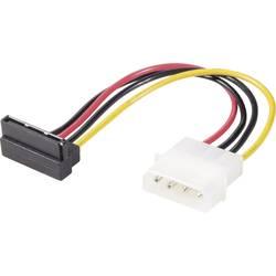 Renkforce Strøm Adapter [1x IDE-Strom-Stecker 4pol. (value.1391101) - 1x SATA-Strom-Buchse 15pol. (value.1391162)] 0.15 m Sort,