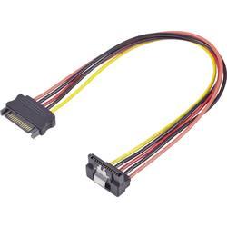 Strujni produžni kabel [1x SATA strujni utikač 15pol. - 1x SATA strujni-utikač ženski 15pol.] Renkforce 0.30 m crni, crveni, žut