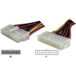Strøm Forlængerkabel [1x ATX-strømstik 20-pol. - 1x ATX-strømtilslutning 24-pol.] 0.15 m Flerfarvet Goobay