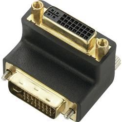 DVI adapter [1x DVI-utikač 24+5pol. - 1x DVI-utičnica 24+5pol.] crni
