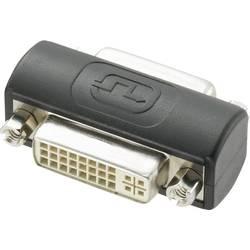 DVI adapter [1x DVI-utičnica 24+5pol. - 1x DVI-utičnica 24+5pol.] crni