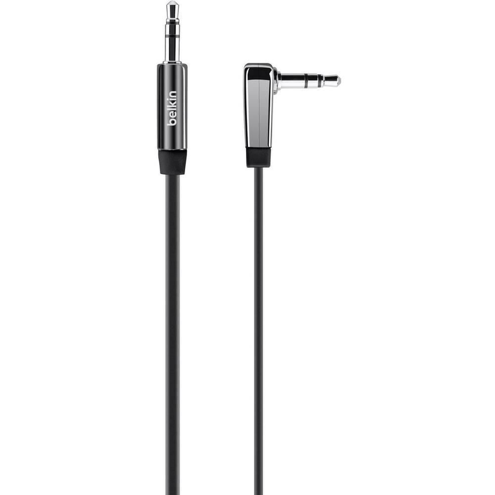 Belkin-JACK audio kabel [1x JACK vtič 3.5mm - 1x JACK vtič 3.5mm] 2m, črn, visoko fleksibilen Belkin AV10128bt06
