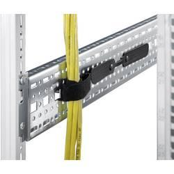 19 upravljanje kabelima za mrežni ormar 300 mm Rittal 7072.240 crne boje