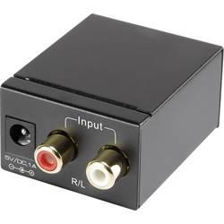 AV Konverter [RCA - Toslink, RCA-digital] SpeaKa Professional SP-ADC-CTK
