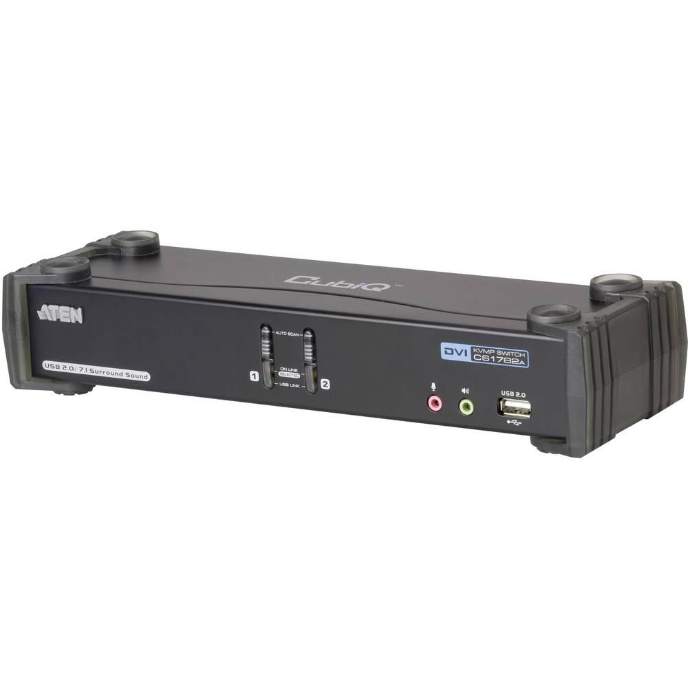 2-vratno KVM-stikalo Aten, USB, DVI CS1782A-AT-G