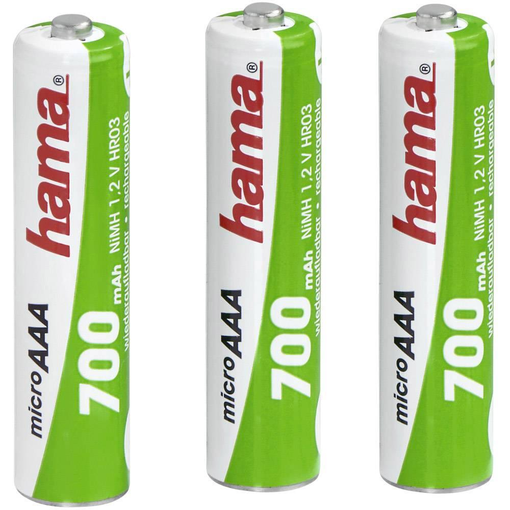 Micro (AAA) akumulator NiMH Hama HR03 700 mAh 1.2 V 1 kos