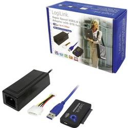 USB 3.0 Tilslutningskabel LogiLink [1x USB 3.0 Stecker A (value.1391173) - 1x SATA-Kombi-Buchse 7+15pol. (value.1391158)] 0.5 m