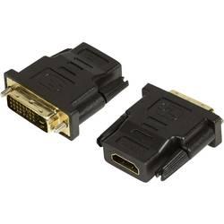 HDMI/DVI adapter LogiLink [1x HDMI-utičnica   1x DVI-utikač 24+1pol.] crn, AH0001
