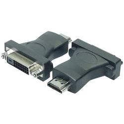 DVI/HDMI adapter LogiLink [1x DVI-utičnica 24+1pol.   1x HDMI-utikač] crn