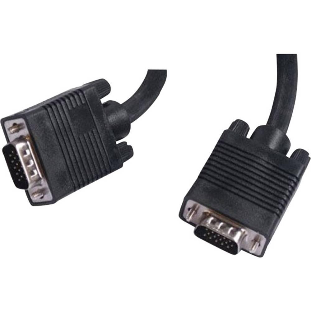Priključni kabel za VGA-monitor Belkin, 5 m, crne boje F2N028R5M