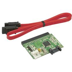 Interface-konverter LogiLink AD0006A [1x SATA-Stecker 7pol. (value.1391161) - 1x IDE-Buchse 40pol. (value.1391118)]