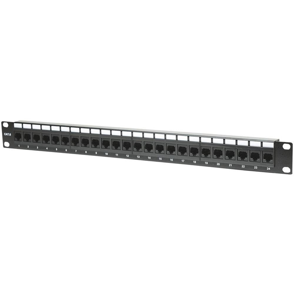 24-vratni patch panel Intellinet, CAT 6, UTP 520959