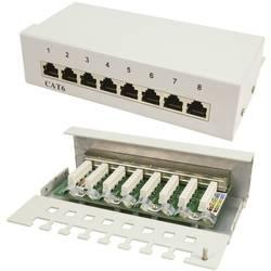 8 porte Netværk-patchbox LogiLink NP0016A CAT 6 1 U