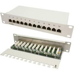 Patch panel CAT 6 LogiLink 12-portni NP0041 1U