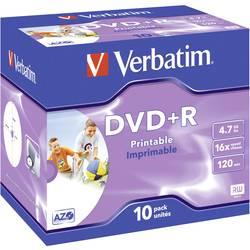 DVD+R prazni Verbatim 43508 4.7 GB 10 kom. kutija ispisiv