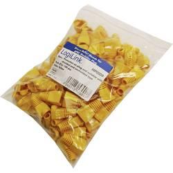 LOGILINK utič-zaščitni žuti (100) MP0009