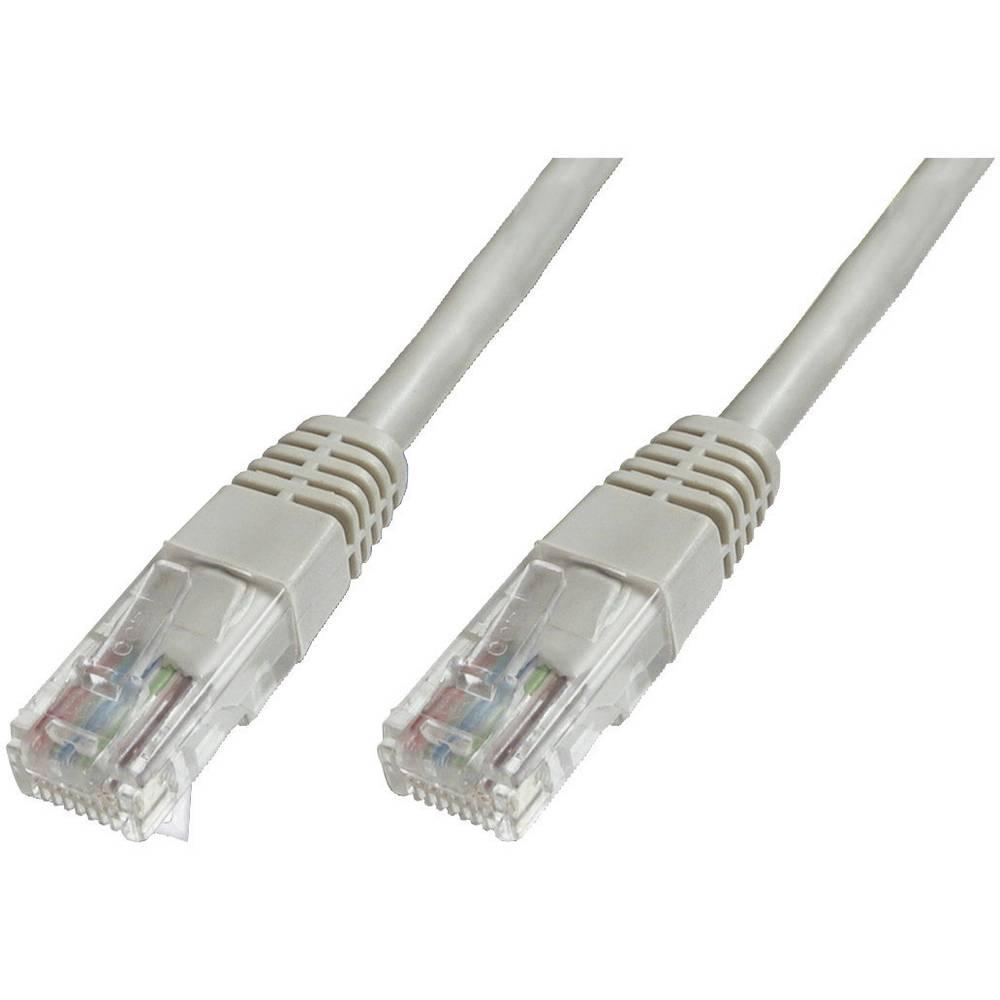 RJ45 mrežni kabel CAT 6 U/UTP [1x utikač - 1x utikač] 10 m sivi s UL certifikatom, zaštić. DK-1614-100 Digitus