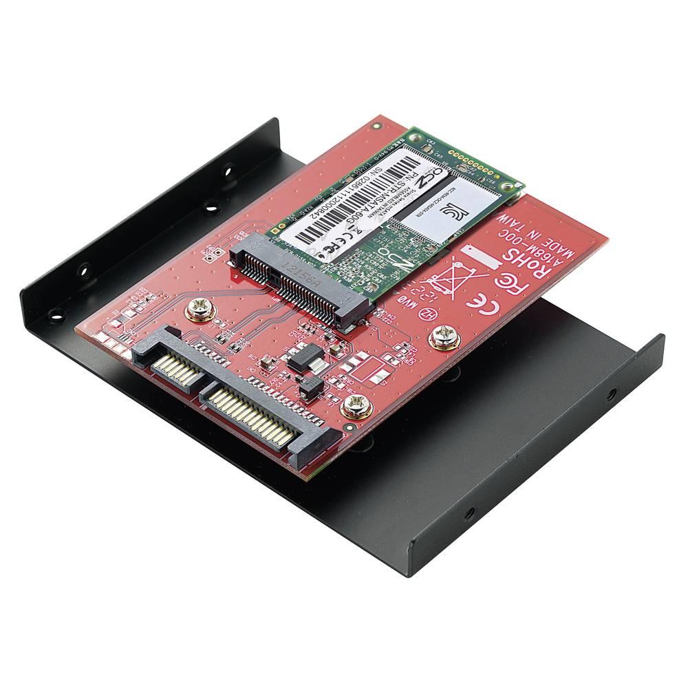 mSATA SSD na SATA konvertor s 8,9 cm (3,5