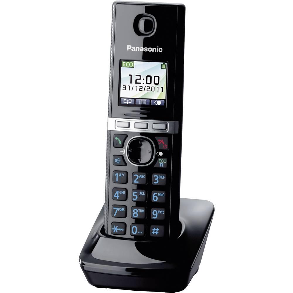 DECT bežični telefon Panasonic KX-TGA806EXB crne boje